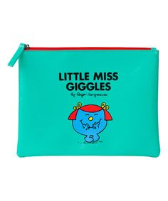 Loving this Little Miss Giggles Pouch on #zulily! #zulilyfinds