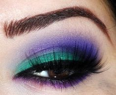 Green, blue & purple