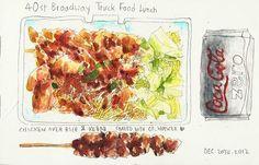Halal Food Truck Lunch by Heegyum Kim