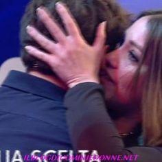Foto della puntata di oggi di Uomini e donne, la non scelta di Andrea Cerioli