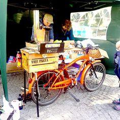Freshly made sourdough pizza for £6 at #harboursidemarket #student #food #bristol #saturday #pizza #winner #fresh