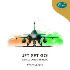 """The """"Gust of Fire"""" is equipped with a wide range of weapons. Rafale lands in India to make us stronger.  #Rafale #RafaleAircraft #IAF #IndianAirForce Indian Air Force, Ale, Weapons, Aircraft, Advertising, Strong, How To Make, Weapons Guns, Guns"""