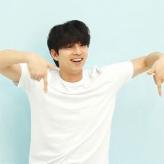 he's so adorable. gong yoo. gif