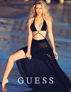 Guess Spring 2015 Ad Campaign | Gigi Hadid | David Bellemere
