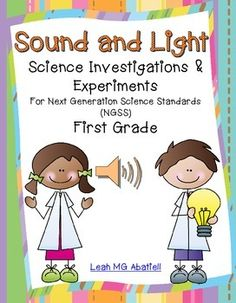 Have you been wondering how you are going to teach Next Generation Science Standards?  This Sound and Light unit is all done for you!