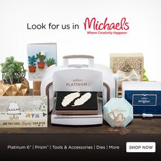 We have exciting news! Check us out in Michaels!