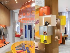 26f9cf93edbc A creative way to show case a clothing store. Missoni flagship store by  Patricia Urquiola