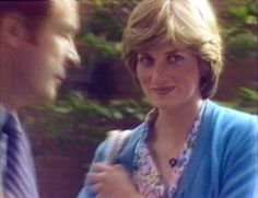 303) July 17, 1981 - Lady Diana returns to the Young England Kindergarten for the end of term/royal wedding party.