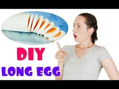 In this video I will do an experiment on how to create a long egg! This is a challenge / lifehack, so we will see if this works or not and whether it is. Brunch Recipes, My Recipes, Life Hacks, Food And Drink, Challenges, Eggs, Experiment, Create, Diy