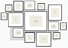 picture frame arrangements wall ideas | frame put in place of the furthest right 4 x 6 frame pictured
