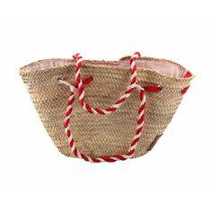 Lina Basket Red White