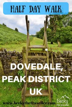 A day hiking in Dovedale in the Peak District in Derbyshire, UK. The walk takes you along the River Dove. A half day hike but options for shorter hikes if required. Full route details included. United Kingdom