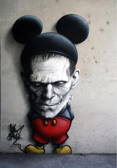 Is this Frankenmouse or Mickeystein?
