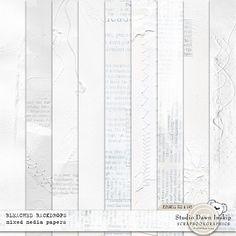 Bleached Backdrops #bleachedbackdrops #bleachedpaper #handmade #visualartmediabundle #dawninskip #scrapbookgraphics