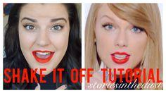 "Taylor Swift ""Shake It Off"" Makeup Tutorial   storiesinthedust"