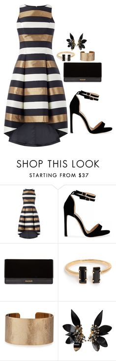 """""""Untitled #67"""" by juenal on Polyvore featuring Balmain, Panacea and Marni"""