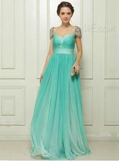 Charming Elegant Sweetheart Neckline Beading Short Sleeves Evening/Prom Dress 10968251 - Evening Dresses 2014 - Dresswe.Com