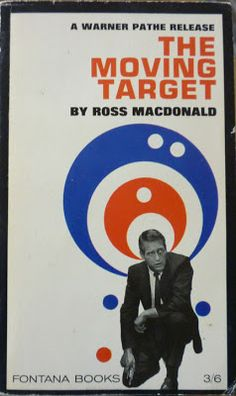 Three Ross Macdonald Lew Archer novels: The Moving Target, The Drowning Pool, The Zebra-Striped Hearse Crime Fiction, Pulp Fiction, Drowning Pool, Adventure Novels, Paul Newman, Book Cover Design, Paperback Books, Thriller, Target