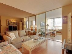 5444 Yonge St Tridel Condos For Sale Toronto Living Room Apartment 406A Victoria Boscariol Chestnut Park Real Estate