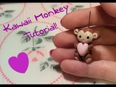 DIY Polymer clay: Tutorial Kawaii Monkey! - YouTube