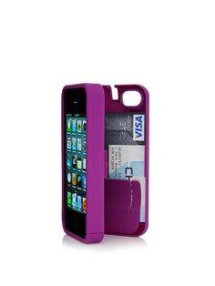 Eyn iPhone Storage Case Purple