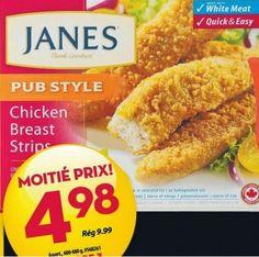 Coupons et Circulaires: 2,98$ Janes Poulet