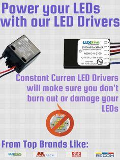 LuxDrive BuckBullet 350mA Constant Current LED Driver