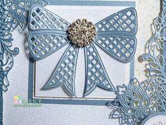牧莎記事DIY手藝網站 -- Tattered Lace 蕾絲刀模 - Lattice Bow (網購單一價)