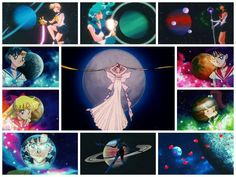 Sailor Moon and Scouts <3