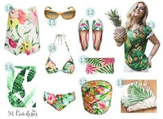Tropical trends in  www.53countesses.blogspot.com