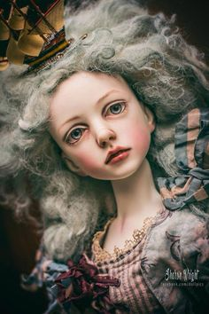 Art doll by Connie Lowe