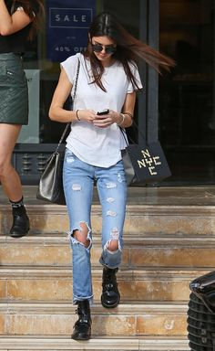 How Kendall Jenner Does Denim the SoCal Way - Gallery - Style.com