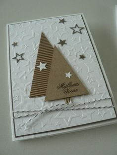 Homemade Christmas cards are the perfect gift for loved ones and of-course, you will enjoy in their creation. All you need is your creativity and paper, glue, scissors. Homemade Christmas Cards, Christmas Cards To Make, Christmas Greeting Cards, Christmas Greetings, Homemade Cards, Handmade Christmas, Holiday Cards, Christmas Diy, Paper Cards