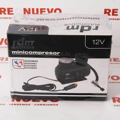 Minicompresor auto RDM 12V nUEVO PRECINTADO E272257 #minicompresor #encaja #segundamano
