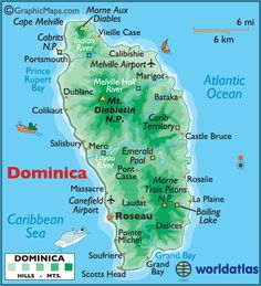 Dominica ~ this WILL be my next big vacation! (after the big move, of course) Plans already in the works! :-)
