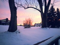 Perfect sunset yesterday