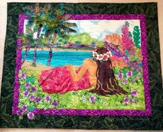 susan patricia paintings   ... . Inspired by a Hawaiian greeting card painting by Susan Patricia