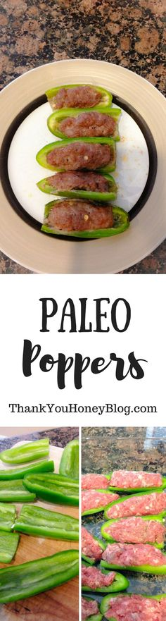 Click through and PIN IT to read later & don't forget to subscribe to our newsletter! Paleo Poppers, Gluten Free, Paleo, Dairy Free, Jalapeno Poppers, Recipe, Paleo Recipe, Whole30, Appetizer, Snack, Starter, How to, Tutorial, Simple Recipe, Football, Ta