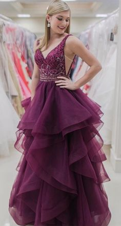 Luxurious V Neck Burgundy Long Prom Dress Quinceanera Dress, Shop plus-sized prom dresses for curvy figures and plus-size party dresses. Ball gowns for prom in plus sizes and short plus-sized prom dresses for Navy Blue Prom Dresses, Prom Dresses 2018, Long Prom Gowns, Plus Size Prom Dresses, Tulle Prom Dress, Mermaid Prom Dresses, Formal Evening Dresses, Quinceanera Dresses, Evening Gowns