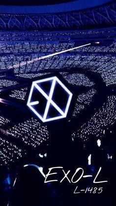 Imagines do EXO - Wallpaper ♡ Kpop Exo, Lightstick Exo, Exo 12, Exo Wallpaper Hd, Galaxy Wallpaper, Cellphone Wallpaper, Baekhyun, Tumblr Kpop, K Pop