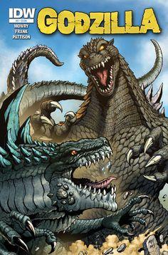 godzilla pics | Godzilla Rulers of Earth issue 2 by KaijuSamurai on deviantART