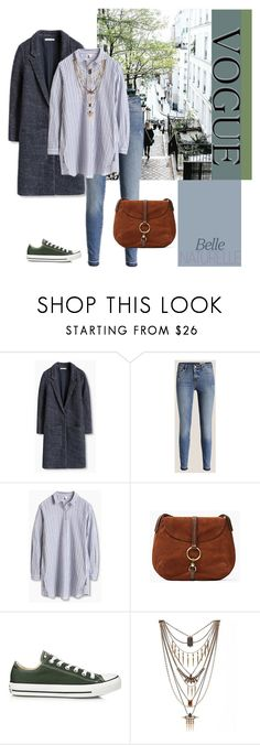 """Sans titre #16"" by petzi ❤ liked on Polyvore featuring Converse and Lucky Brand"
