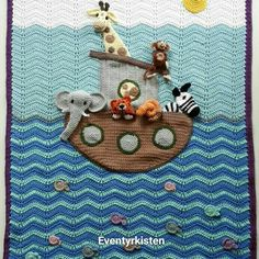 Noas ark baby blanket