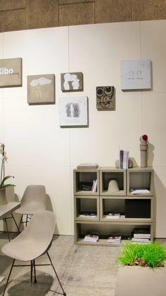 Lyon Beton's fede reolsystem Cube. http://kiboliving.com/inspiration/lyonbeton/item/134-cube  Køb den hos Kibo Living