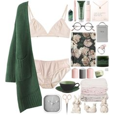 A fashion look from April 2015 featuring DKNY panties, The Nude Label bras and Dogeared necklaces. Browse and shop related looks.