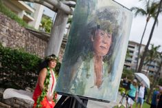 My painting of a Hawaiian model at a 2018 Maui Plein Air Painting Invitational Paint Out, about 30 minutes in, at the Montage Kapalua Bay. #patricksaunders #portraitpainting #patricksaundersfinearts #portraitpainter