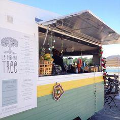 @lemangotree Bar à fruits mobile à Hossegor