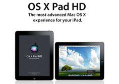 OS X Pad HD – Transform your #iPad into MacPad