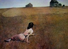 El mundo de Cristina acuarela de Andrew wyeth