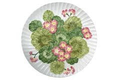 Italian Geranium Charger from Auctiondogs505 via One Kings Lane
